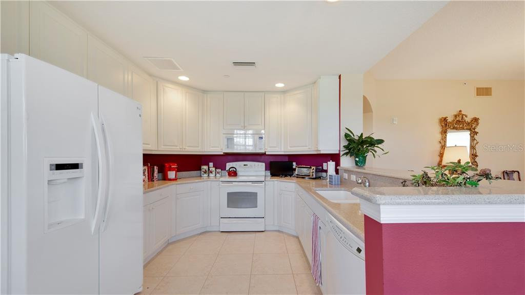 Kitchen - Condo for sale at 5531 Cannes Cir #306, Sarasota, FL 34231 - MLS Number is A4196722