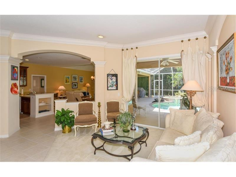 Living Or Reception Room! - Single Family Home for sale at 6910 Treymore Ct, Sarasota, FL 34243 - MLS Number is A4198957