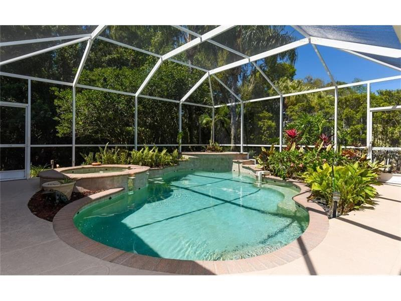 Sparkling Swimming Pool and Spa! - Single Family Home for sale at 6910 Treymore Ct, Sarasota, FL 34243 - MLS Number is A4198957