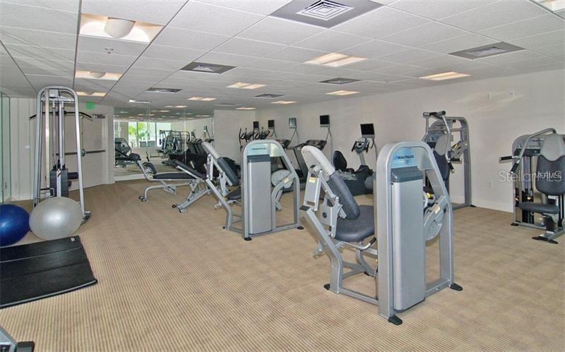 Exercise facility - Condo for sale at 1771 Ringling Blvd #609, Sarasota, FL 34236 - MLS Number is A4201774