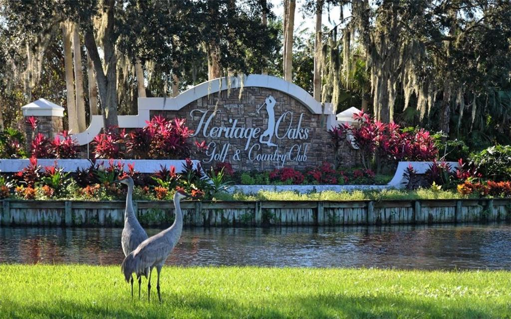 Heritage Oaks is a Well Maintained Golf Community - Condo for sale at 5280 Hyland Hills Ave #1814, Sarasota, FL 34241 - MLS Number is A4202373