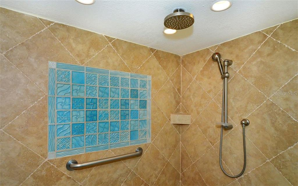 Master bathroom ceiling feature - Condo for sale at 6480 Midnight Pass Rd #217, Sarasota, FL 34242 - MLS Number is A4202790