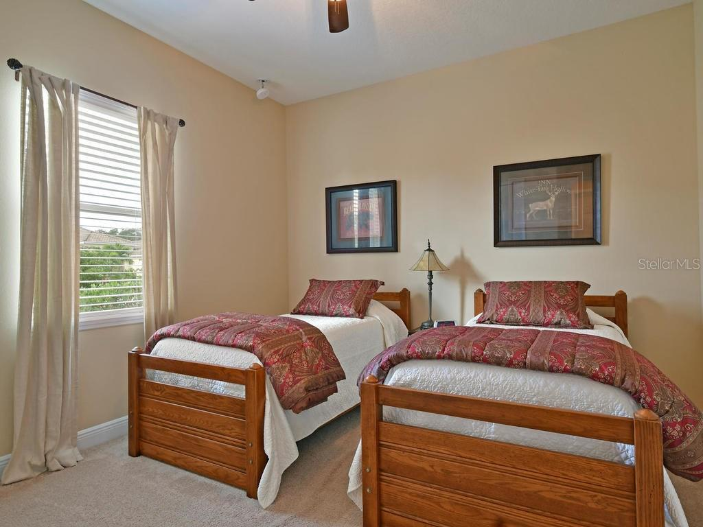 Second guest bedroom - Single Family Home for sale at 6601 Horned Owl Pl, Sarasota, FL 34241 - MLS Number is A4205612