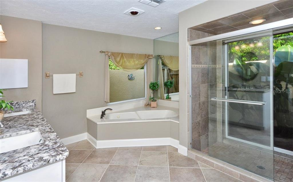 Master bathroom - Single Family Home for sale at 3882 Spyglass Hill Rd, Sarasota, FL 34238 - MLS Number is A4206477