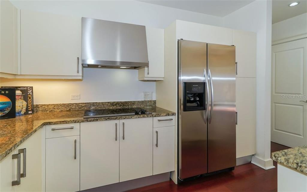 Stainless steel appliances give a fresh appearance - Condo for sale at 1350 Main St #608, Sarasota, FL 34236 - MLS Number is A4206707