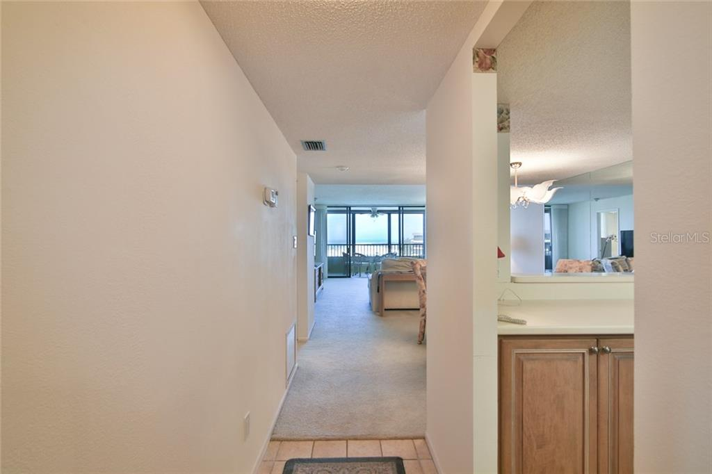 As you enter your condo - Condo for sale at 5790 Midnight Pass Rd #704, Sarasota, FL 34242 - MLS Number is A4208095