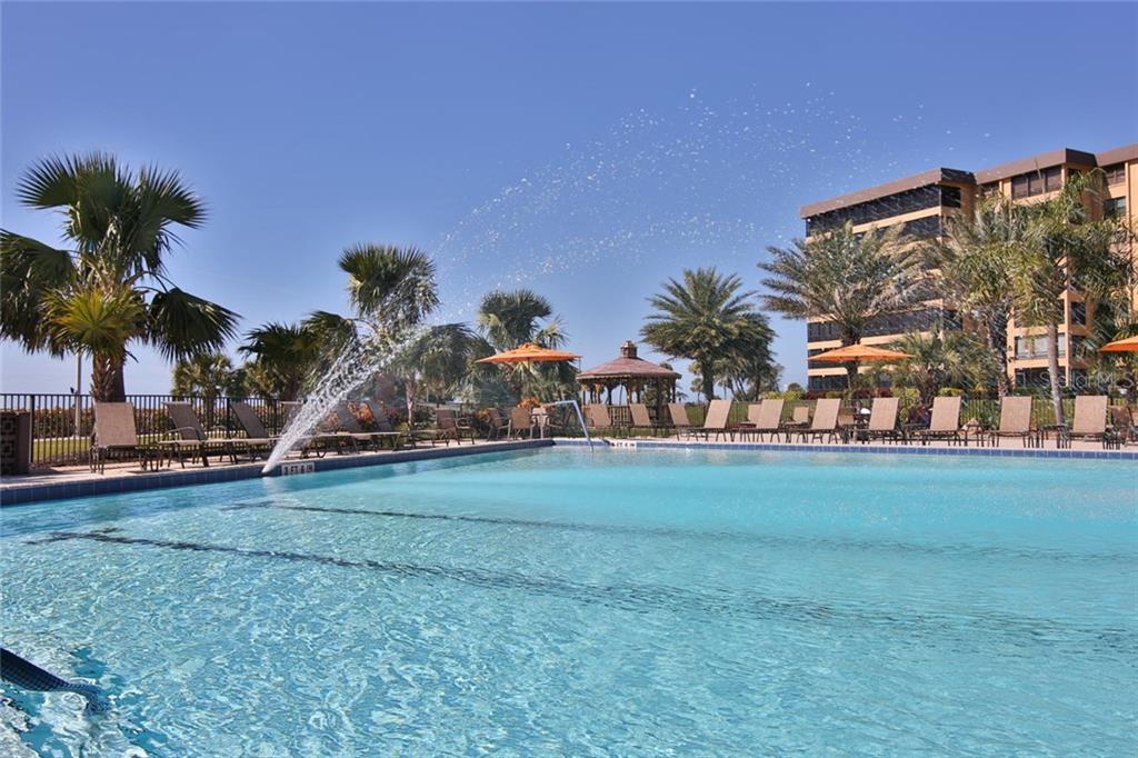 1 of 3 heated pools - Condo for sale at 5790 Midnight Pass Rd #704, Sarasota, FL 34242 - MLS Number is A4208095