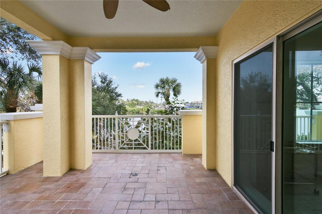 Balcony off dinette - Condo for sale at 1310 Old Stickney Point Rd #e21, Sarasota, FL 34242 - MLS Number is A4209502