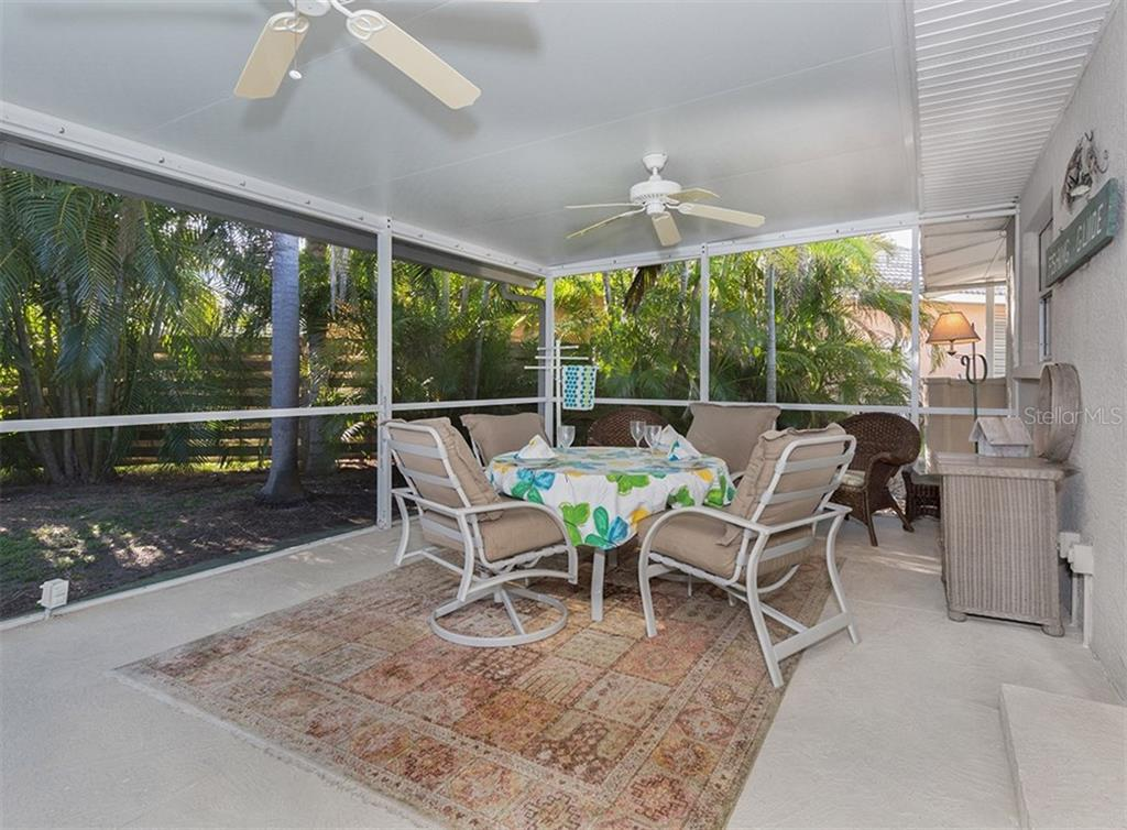 Lanai - Single Family Home for sale at 445 Mahon Dr, Venice, FL 34285 - MLS Number is A4209507