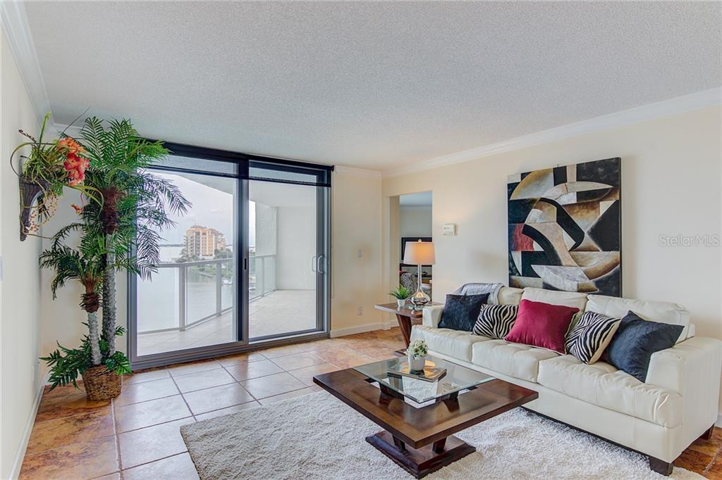 Lobby - Condo for sale at 1111 N Gulfstream Ave #7b, Sarasota, FL 34236 - MLS Number is A4212040