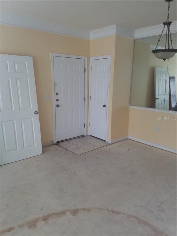 Front Door and Closet - Condo for sale at 4802 51st St W #906, Bradenton, FL 34210 - MLS Number is A4403780
