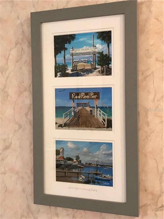 3 Island landmarks you'll love to visit..the City Pier, Rod N Reel Pier and Bradenton Beach Pier - Condo for sale at 5200 Gulf Dr #101, Holmes Beach, FL 34217 - MLS Number is A4404016