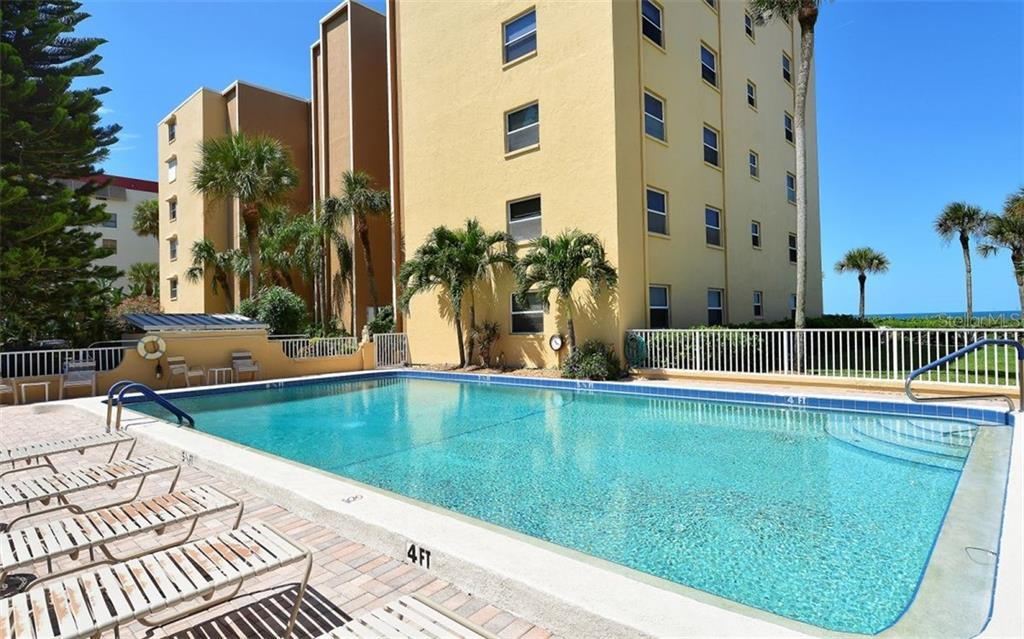 Recently updated pool and new pavered pool deck, also partial Gulf View. - Condo for sale at 4311 Gulf Of Mexico Dr #601, Longboat Key, FL 34228 - MLS Number is A4405195