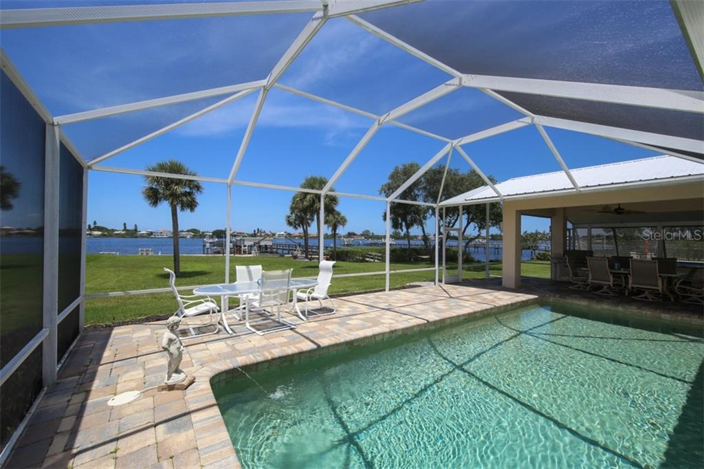Screened Lanai, 29ft x 14 ft pool - Single Family Home for sale at 1778 Bayshore Dr, Englewood, FL 34223 - MLS Number is A4405962