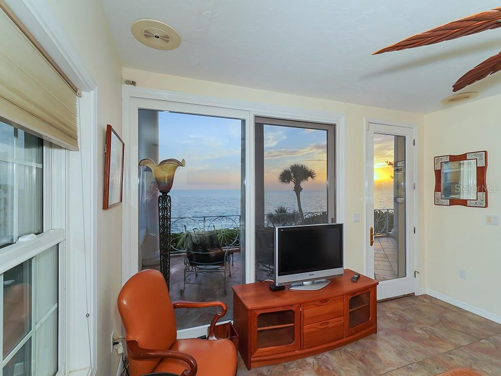 Guest House #1 - Tower Balcony - Single Family Home for sale at 916 N Casey Key Rd, Osprey, FL 34229 - MLS Number is A4408082