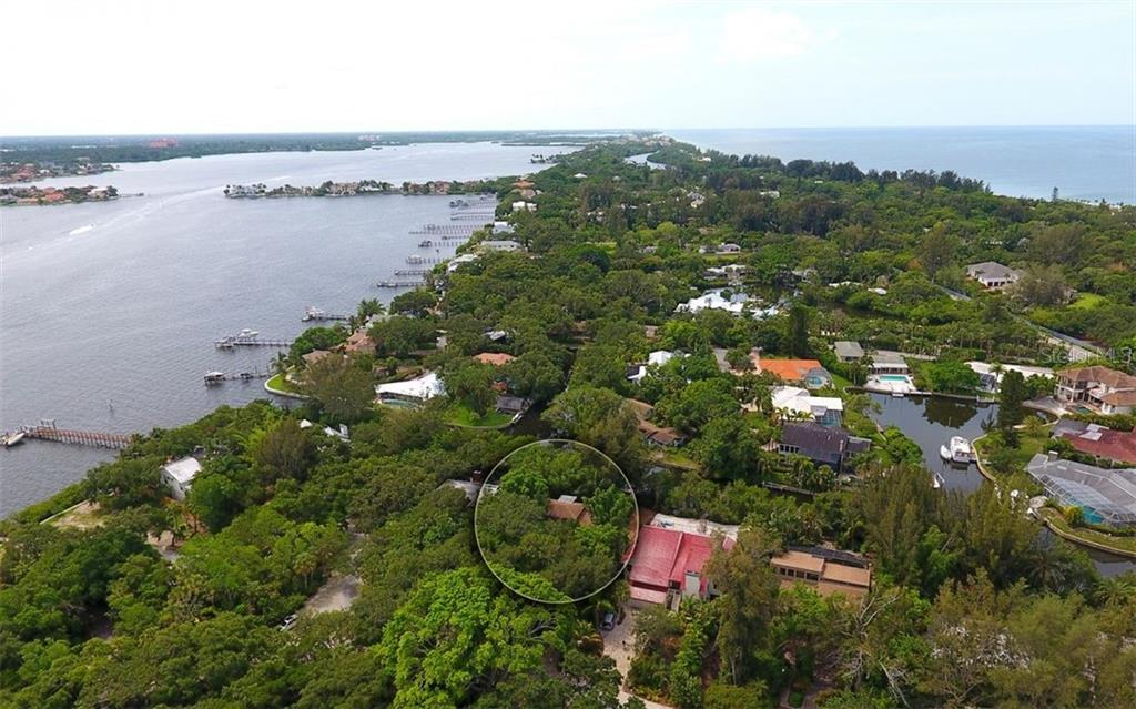 Arial Views looking South - Single Family Home for sale at 1238 Sea Plume Way, Sarasota, FL 34242 - MLS Number is A4408272