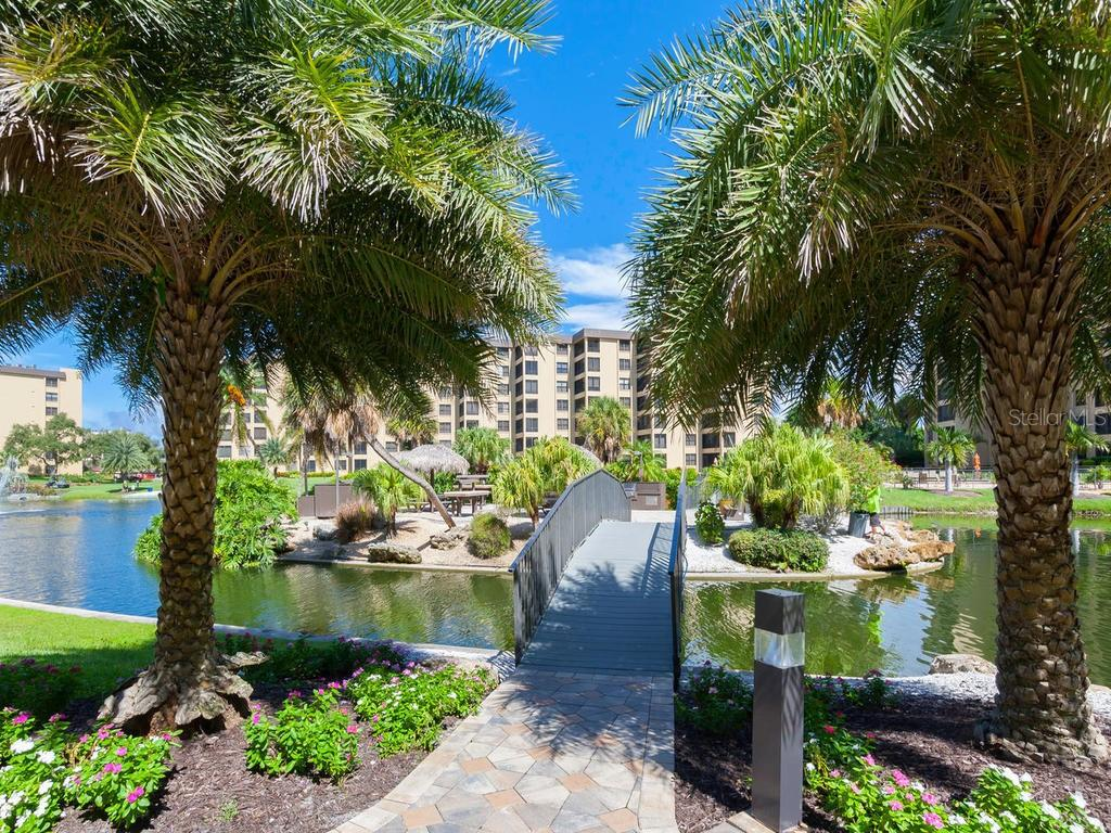 Gulf & Bay Bridge to Picnic Area - Condo for sale at 5780 Midnight Pass Rd #208, Sarasota, FL 34242 - MLS Number is A4411755