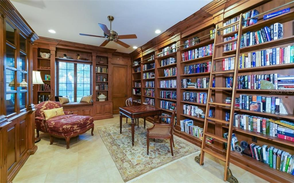 Library - Single Family Home for sale at 2829 Wilfred Reid Cir, Sarasota, FL 34240 - MLS Number is A4416091