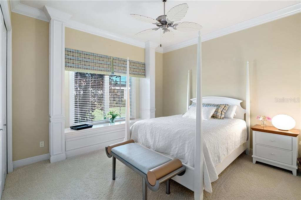 GUEST BEDROOM 3 - Single Family Home for sale at 4121 Founders Club Dr, Sarasota, FL 34240 - MLS Number is A4417319