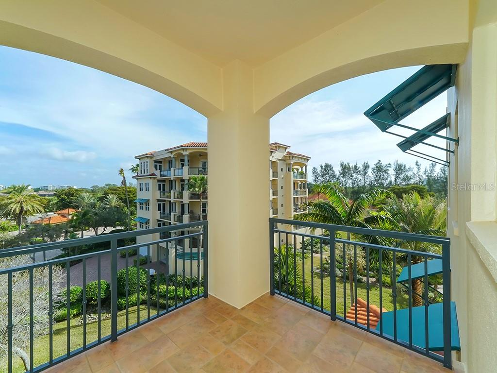 Guest Bedroom Terrace - Condo for sale at 2399 Gulf Of Mexico Dr #3c3, Longboat Key, FL 34228 - MLS Number is A4421722