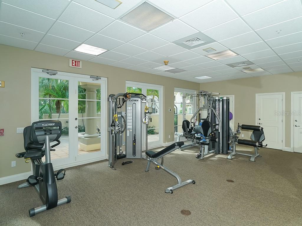 State of the Art Fitness Studio - Condo for sale at 2399 Gulf Of Mexico Dr #3c3, Longboat Key, FL 34228 - MLS Number is A4421722