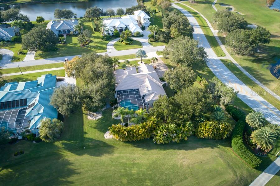 Mature Landscaping Adds Privacy - Single Family Home for sale at 7791 Alister Mackenzie Dr, Sarasota, FL 34240 - MLS Number is A4422525