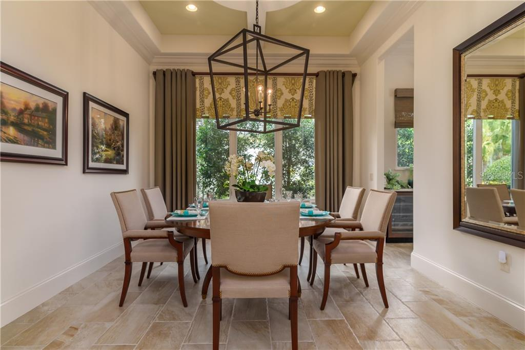 Dining Room - Single Family Home for sale at 3507 Founders Club Dr, Sarasota, FL 34240 - MLS Number is A4428010