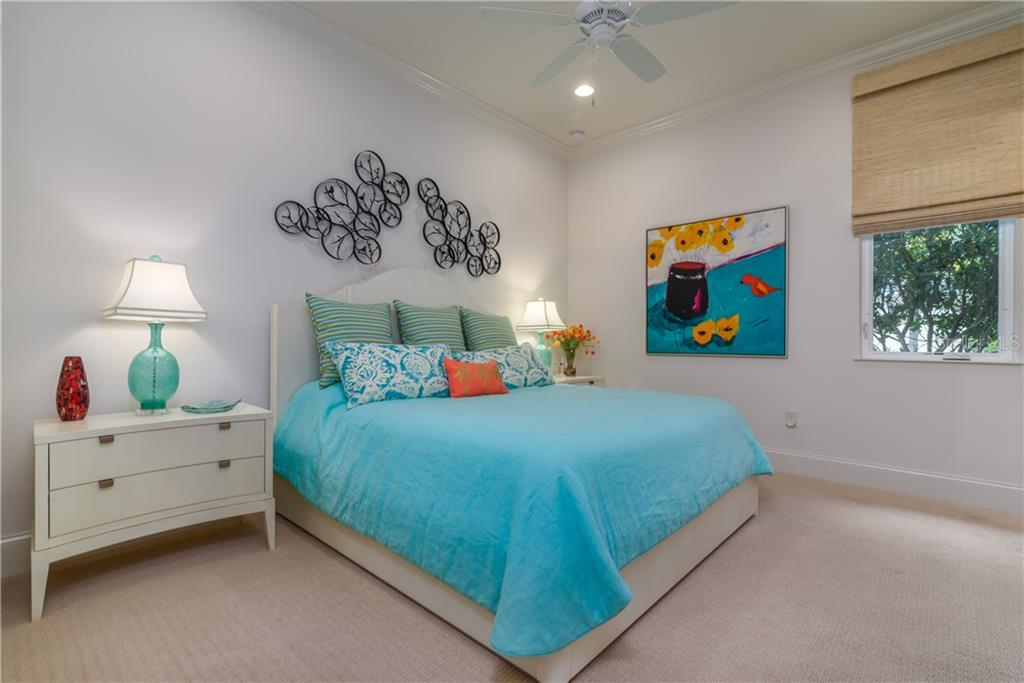 Guest Bedroom and bath. - Single Family Home for sale at 3507 Founders Club Dr, Sarasota, FL 34240 - MLS Number is A4428010