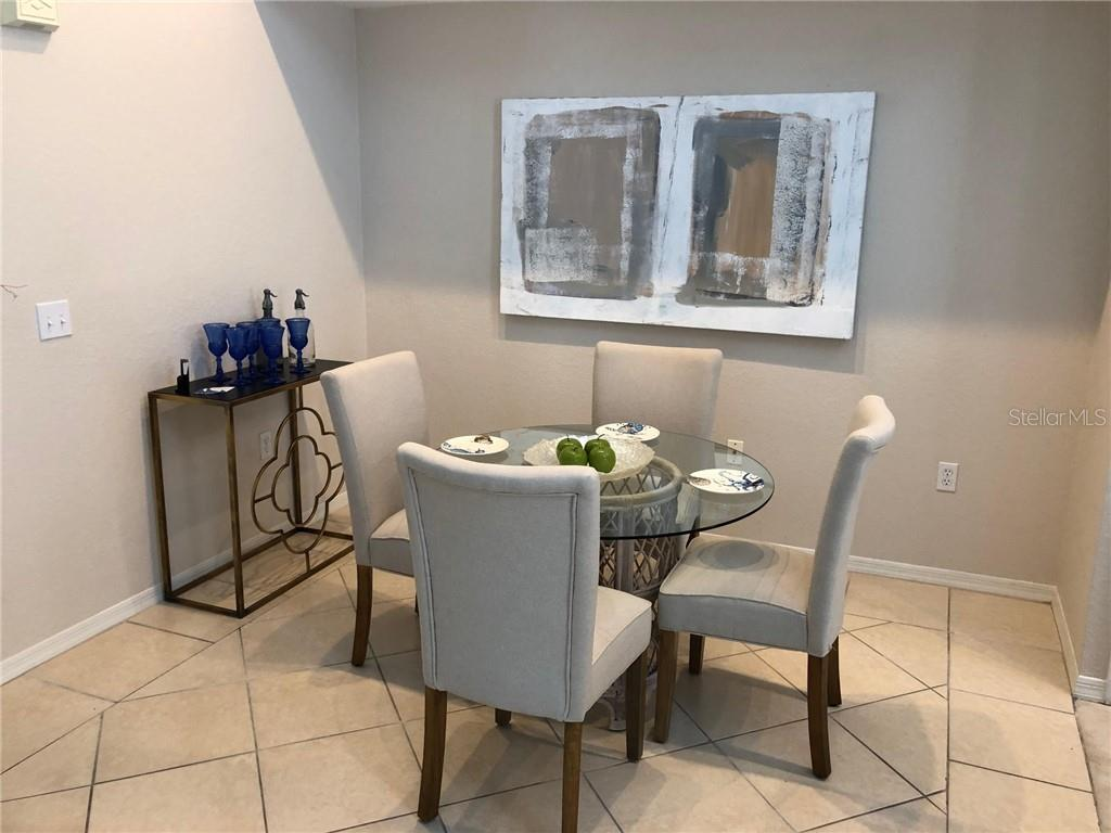 Dining Area Off The Kitchen - Condo for sale at 5511 Rosehill Rd #201, Sarasota, FL 34233 - MLS Number is A4431621