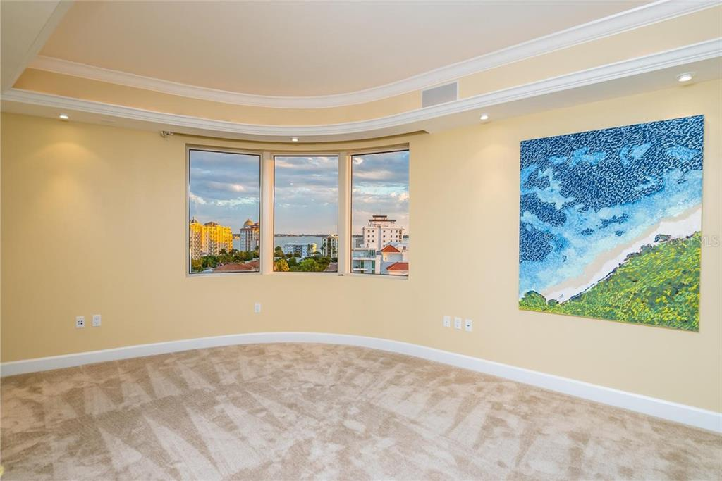 Guest Bedroom #3 that can also be a great media room! - Condo for sale at 128 Golden Gate Pt #902a, Sarasota, FL 34236 - MLS Number is A4433296