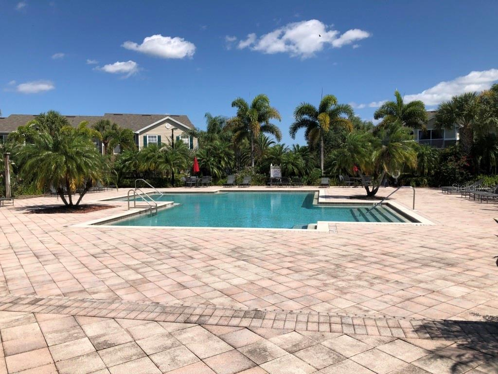 Village at Townpark large community pool - Condo for sale at 8923 Manor Loop #106, Lakewood Ranch, FL 34202 - MLS Number is A4434002