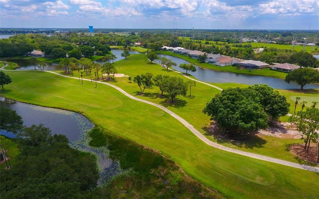 longview of golf course - Single Family Home for sale at 5401 Downham Meadows, Sarasota, FL 34235 - MLS Number is A4436577