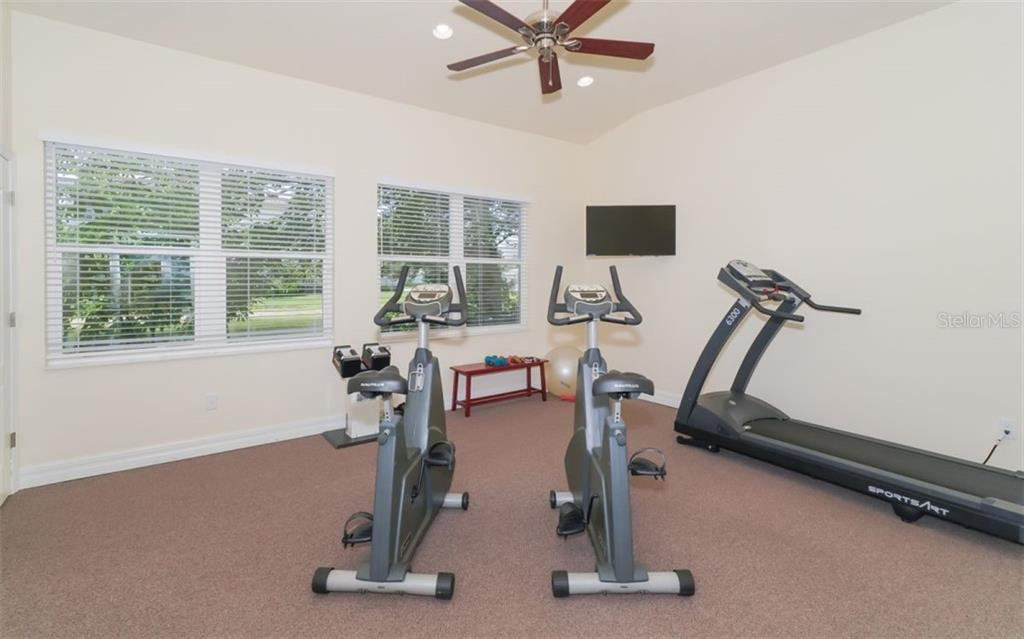 Fitness room within clubhouse. - Condo for sale at 200 San Lino Cir #233, Venice, FL 34292 - MLS Number is A4440138