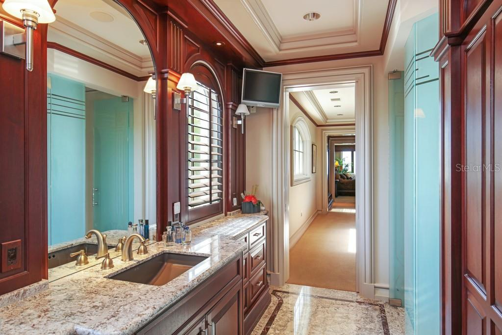 Secong master bedroom dressing area - Single Family Home for sale at 845 Longboat Club Rd, Longboat Key, FL 34228 - MLS Number is A4440615