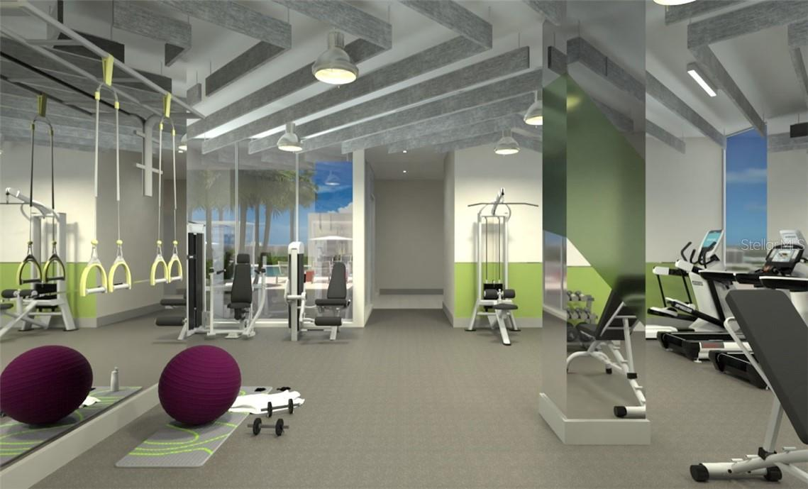 Plenty of options for cardio or strength training. - Condo for sale at 605 S Gulfstream Ave #12, Sarasota, FL 34236 - MLS Number is A4441150