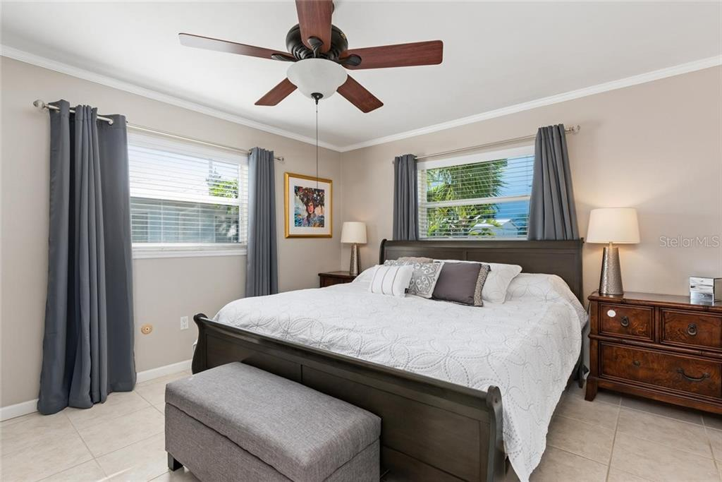 Second bedroom - Single Family Home for sale at 602 Baronet Ln, Holmes Beach, FL 34217 - MLS Number is A4447974