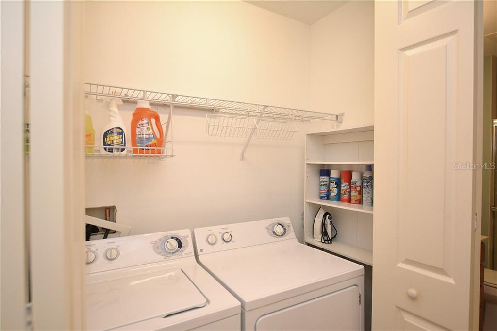 Laundry Closet - Condo for sale at 5304 Manorwood Dr #2b, Sarasota, FL 34235 - MLS Number is A4448585