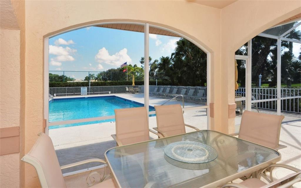 Bocce courts where  various tournaments are played. - Condo for sale at 9620 Club South Cir #5202, Sarasota, FL 34238 - MLS Number is A4450015