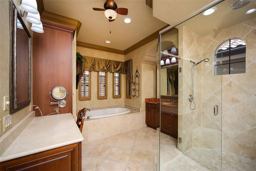 Master bath - Single Family Home for sale at 15212 Linn Park Ter, Lakewood Ranch, FL 34202 - MLS Number is A4450793