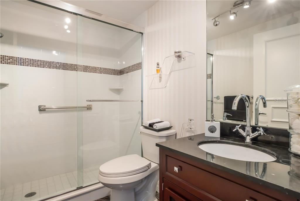 Junior master fully updated bath. - Condo for sale at 1800 Benjamin Franklin Dr #b506, Sarasota, FL 34236 - MLS Number is A4451047