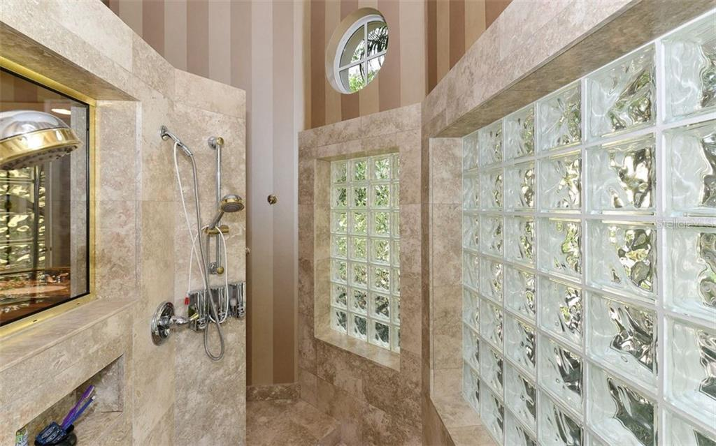 Master Ensuite Stand Alone Shower - Single Family Home for sale at 586 N Macewen Dr, Osprey, FL 34229 - MLS Number is A4451482