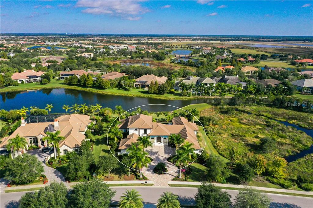 Conservation area next to the property cannot be built upon for the ultimate in privacy - Single Family Home for sale at 16119 Baycross Dr, Lakewood Ranch, FL 34202 - MLS Number is A4452632