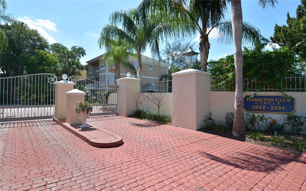 Gated community w/only 18 residences - Condo for sale at 3994 Hamilton Club Cir #18, Sarasota, FL 34242 - MLS Number is A4455281