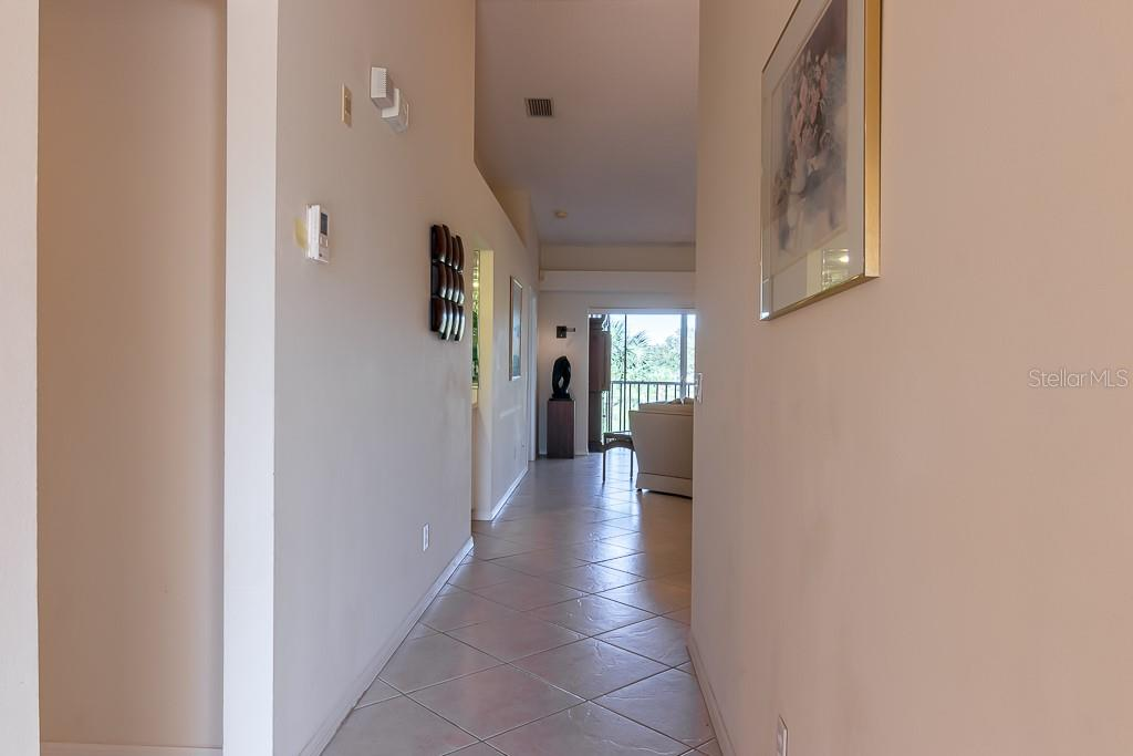 Tiled entryway - Condo for sale at 9570 High Gate Dr #1722, Sarasota, FL 34238 - MLS Number is A4457005