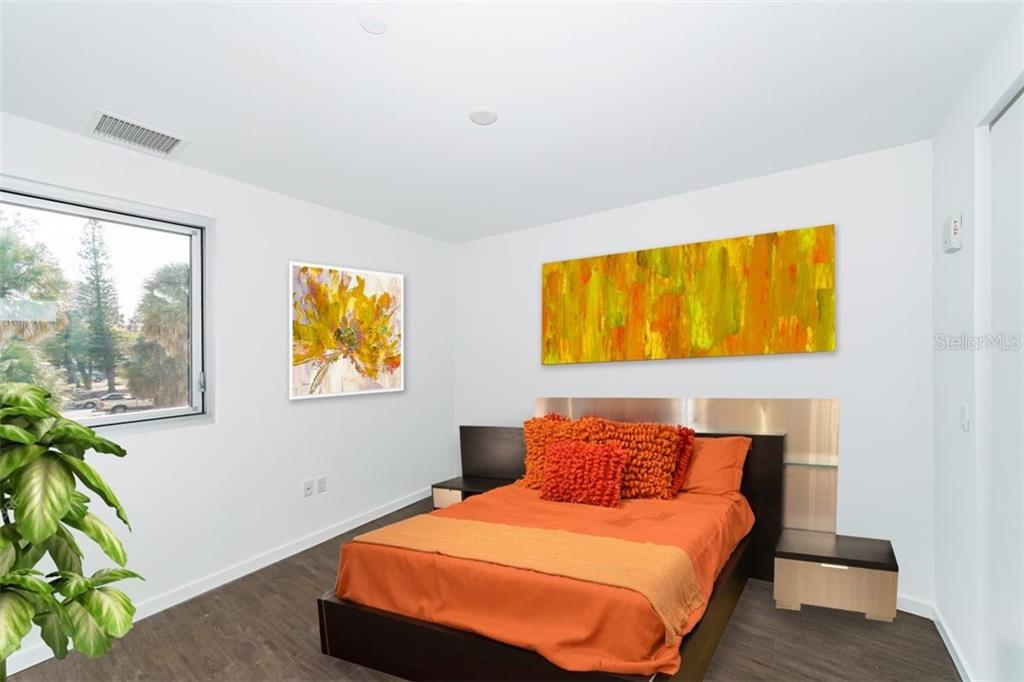 Prepare to be inspired to personalize these 14 foot walls of owners suite space. - Condo for sale at 1350 5th Street #104, Sarasota, FL 34236 - MLS Number is A4463799