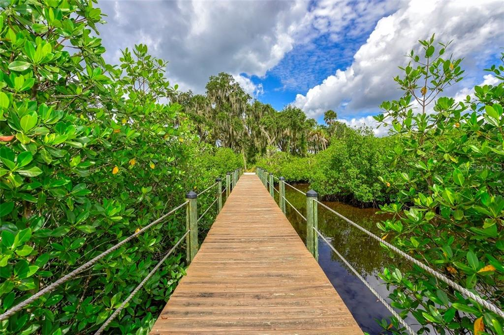 The Reserve walking trail - Vacant Land for sale at 680 Regatta Way, Bradenton, FL 34208 - MLS Number is A4468555