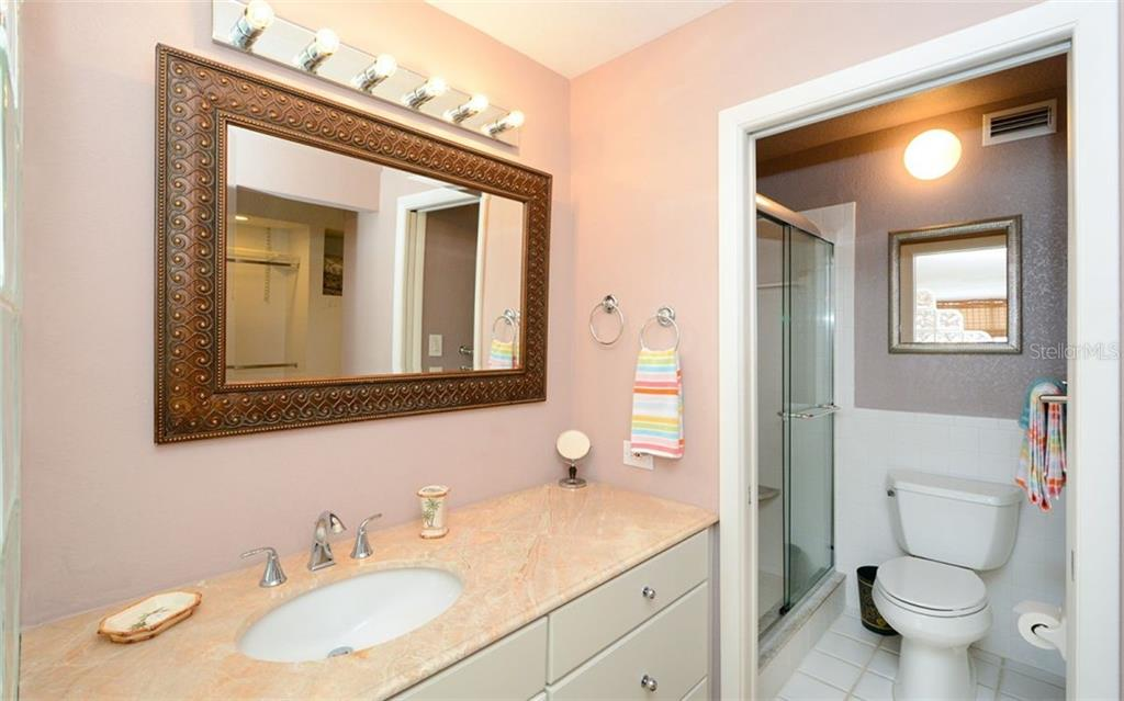 Master bath. - Condo for sale at 1770 Benjamin Franklin Dr #706, Sarasota, FL 34236 - MLS Number is A4469463