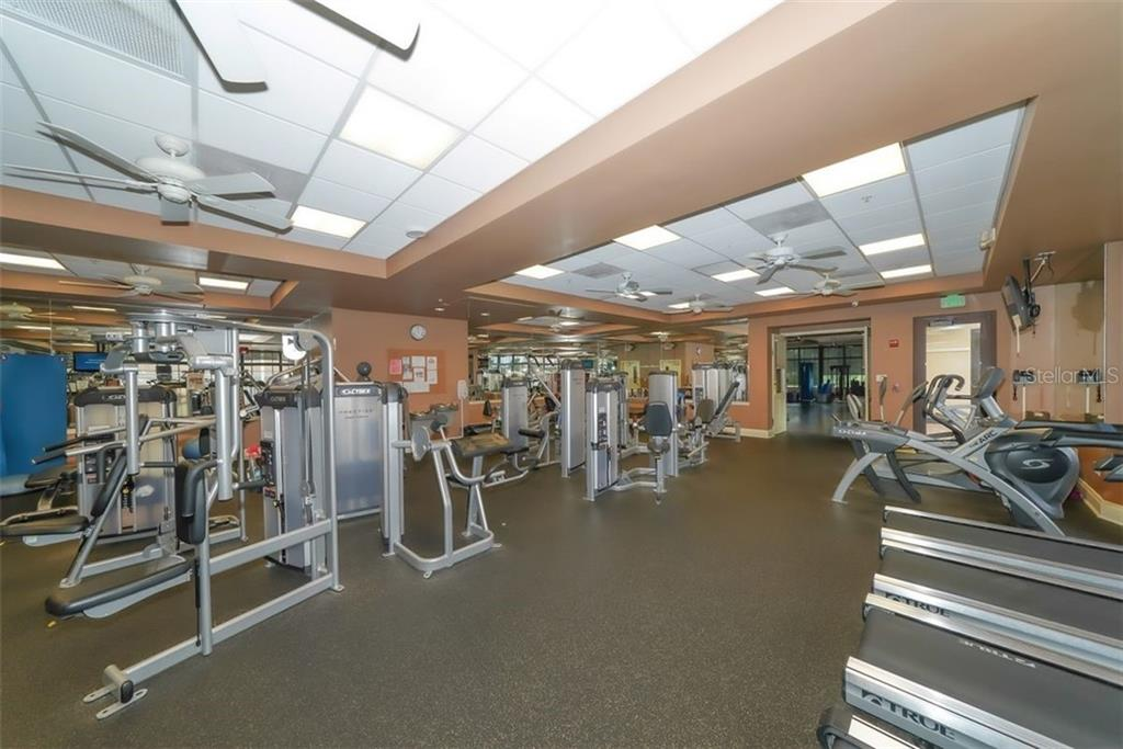 Equipment and free weights - Villa for sale at 4590 Samoset Dr, Sarasota, FL 34241 - MLS Number is A4471881