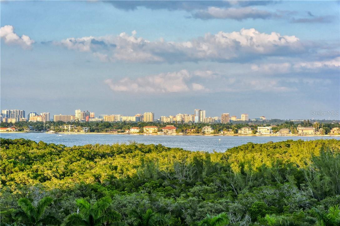 Private Terrace with expansive views of Sarasota. - Condo for sale at 1300 Benjamin Franklin Dr #708, Sarasota, FL 34236 - MLS Number is A4471978