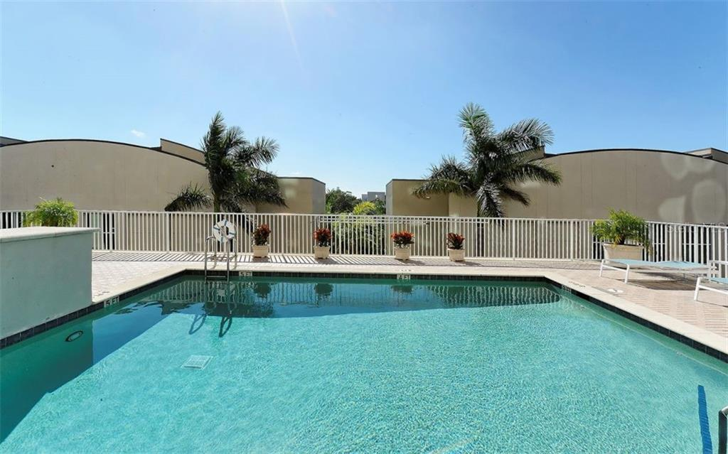 Pool for exercise of play - Condo for sale at 1771 Ringling Blvd #1110, Sarasota, FL 34236 - MLS Number is A4474683